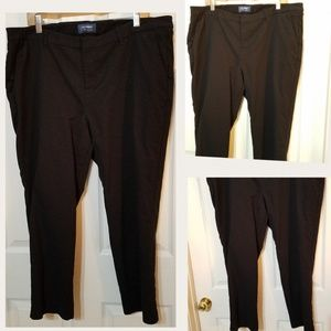 Old Navy Harper Black Pants Size 18 regular